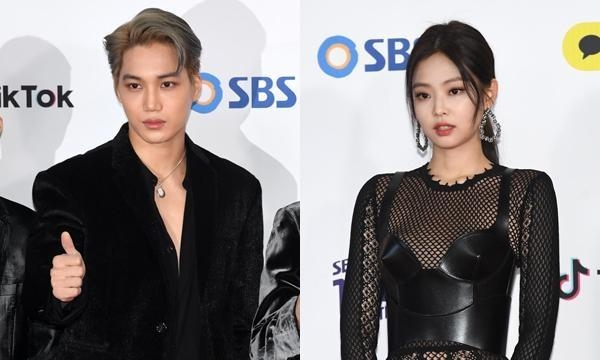 blackpink-jennie-exo-kai