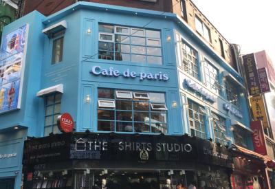 Cafe de paris 명동