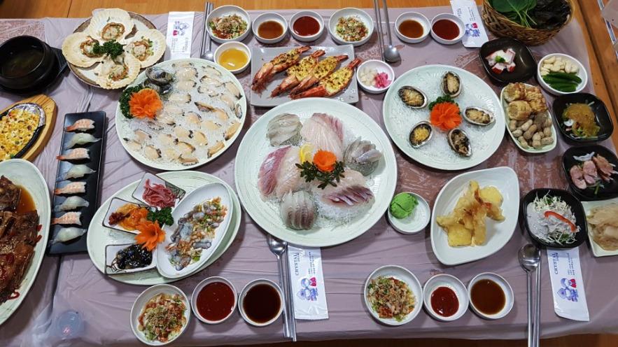 チャガルチシジャン海産物