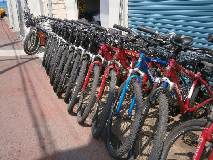 ジェジュハイキング自転車