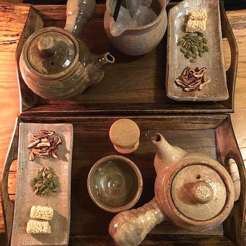 ソルガホン-お茶