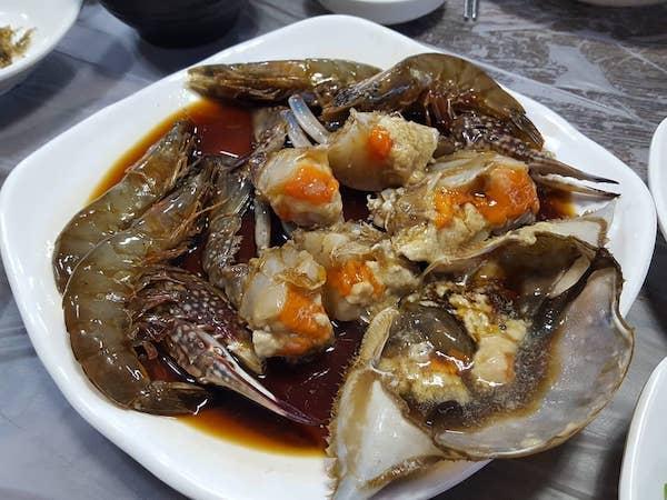 アグランコッケラン-蟹