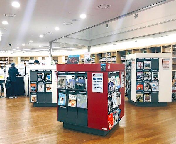 ソウル図書館2階